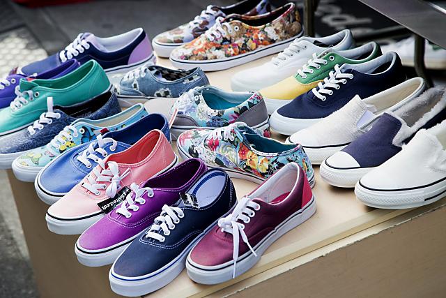 お家で洗える靴の見分け方