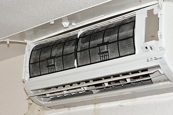 エアコンのお掃除手順