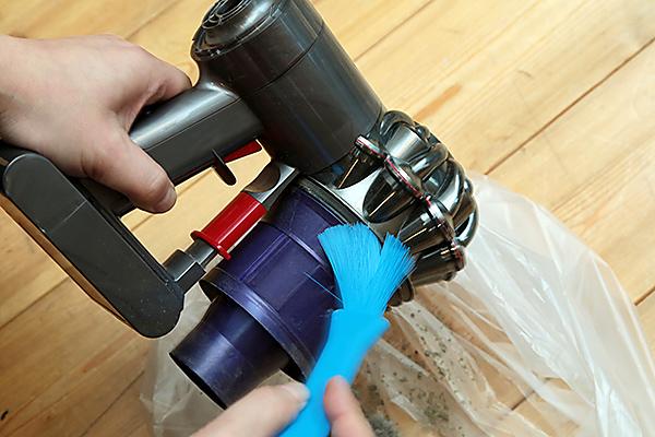 ペストリーブラシを使った掃除方法