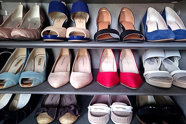 毎日同じ靴を履かず、複数の靴をローテーショ ンで履く