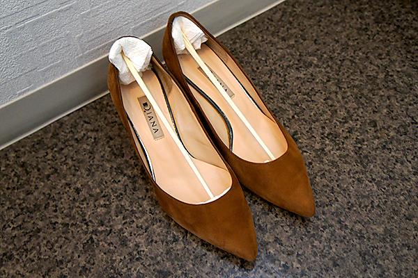 短靴用の即席シューキーパー